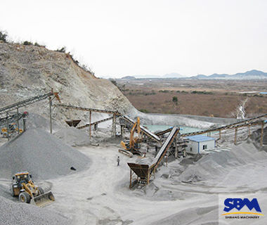 Design and install a 400 TPH limestone crushing line